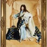 Louis XIV (reproduction partielle)